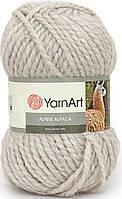 Пряжа для ручного вязания YarnArt Alpine Alpaca (Альпин альпака)толстая зимняя пряжа нитки 430