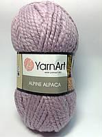 Пряжа для ручного вязания YarnArt Alpine Alpaca (Альпин альпака)толстая зимняя пряжа нитки 443