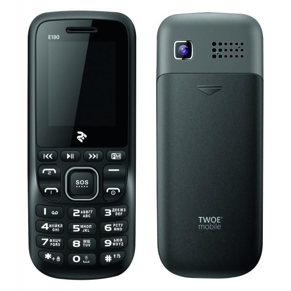 Телефон 2E E180 Dual Sim Gray