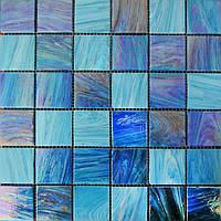 Мозаика с перламутром синяя Vivacer YBmix2