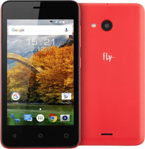 Телефон Fly FS408 Red