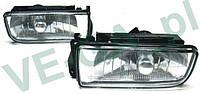 BMW E36 seria 3 90-98 левая и правая галогенка противотуманка дополнительная фара птф оптика комплект
