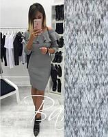 """Женское платье миди """"Rihanna"""" из ангоры Розничная цена. Женская одежда от производителя."""