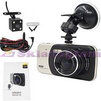 Автомобильный видеорегистратор DVR X 600 с двумя камерами, 1080P Full HD**