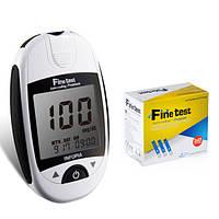 Глюкометр Файнтест Премиум (Finetest auto-coding Premium) + 50 тест-полосок