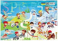 Подложка на стол Cool For School А3 Спорт CF61480-12