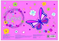 Подложка на стол Cool For School А3 Butterfly CF69001-02