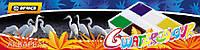 Краски акварельные медовые 6 цв. Economix Africa карт. кор., без кисти  E60107