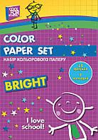 Бумага цветная детская А4 14л. Cool For School Набор 7цвет. CF21103