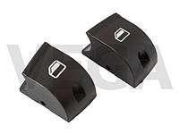 Audi A4 00-07 крышки кнопки регуляторов стеклоподъемника передняя в левую панель переключатели фиксаторы