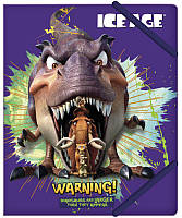 Папка B5 на резинках Cool For School пластиковый Ice Age IA09321