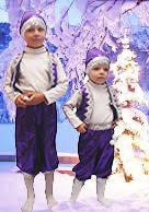 Карнавальные новогодние костюмы Гномик (мальчик)  фиолетовый
