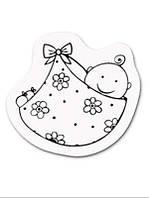 Штамп акриловый  Малыш, размер: 5*6 см Knorr Prandell 2118831026
