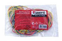 Резинки для денег 50гр цветные Axent 4610