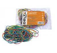 Резинки для денег 50гр разноцветные Delta D4620