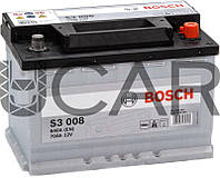 Bosch S3008 Black 70 Ah 640 A аккумулятор (-+, R), 2017 год (0092S30080)