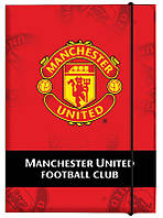Папка А4 с резинкой картон Kite FC Manchester United MU14-211K