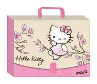 Портфель А4 Kite мод 209 Hello Kitty пластик с замком HK17-209