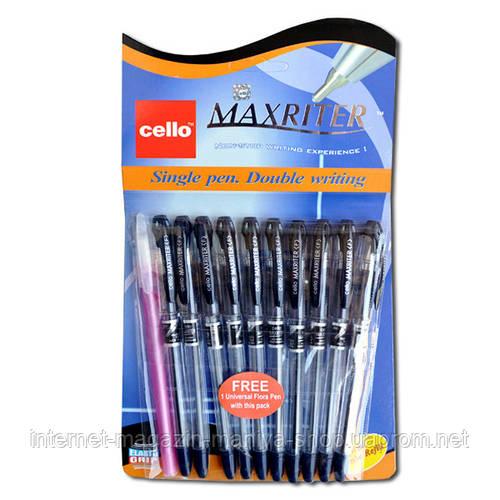 «Maxriter» Cello ручка масл. Син.