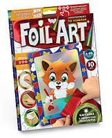Набор для творчества DankoToys DT FAR-01-01 Аппликация Foil Art Картина фольгой