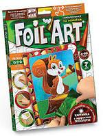 Набор для творчества DankoToys DT FAR-01-06 Аппликация Foil Art Картина фольгой