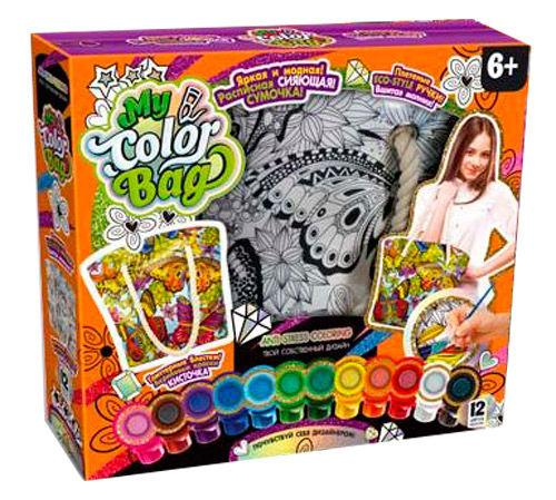 Набор для творчества DankoToys DT COB-01-03 Сумка - раскраска My Color Bag