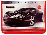 Папка B5 на молнии Cool For School пластиковый Car CF32000-01