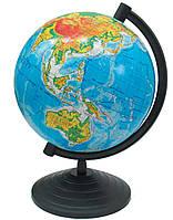 Глобус настольный диаметр 16см ТОП Рус физический 210017