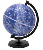 Глобус настольный диаметр 22см ТОП Укр звездное небо 210029