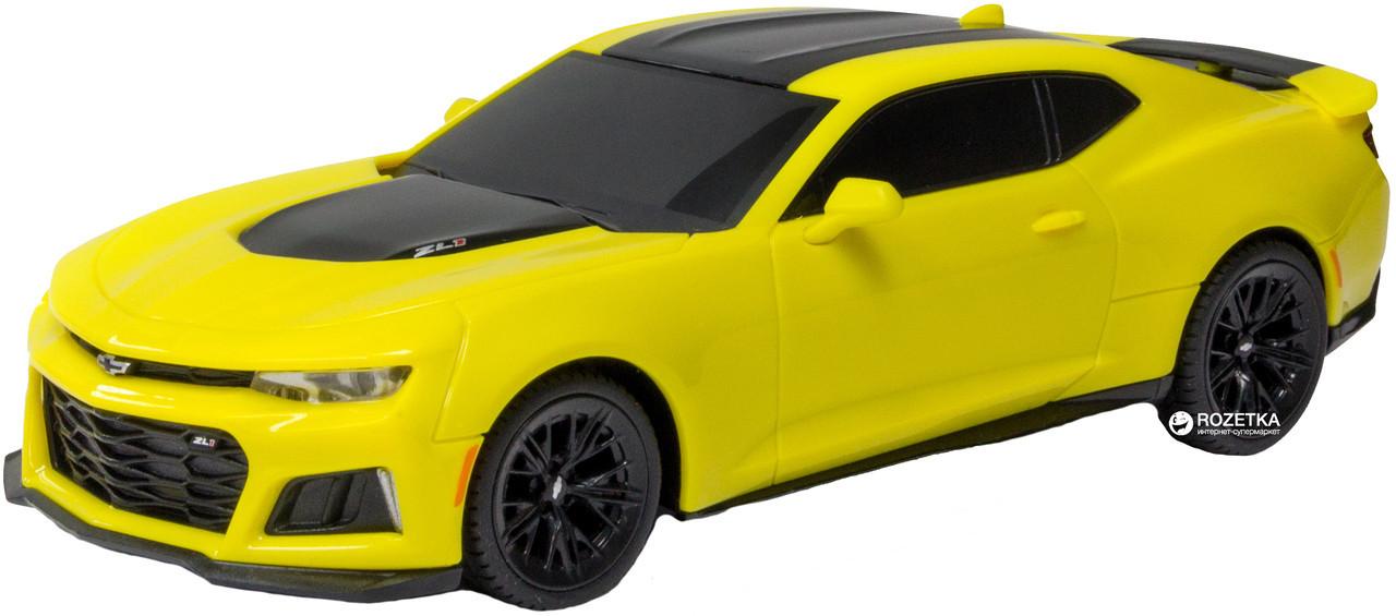 Автомодель – CAMARO ZL1 (ассорти красный, желтый, 1:26, свет, звук, инерц.)