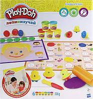 """Игровой набор с пластилином """"Буквы и языки""""   C3581"""