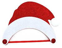 Новогодние украшения 1 Вересня 952353 Новогодняя шапка войлок в уп 1шт