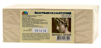 Пластилин скульптурный ГАММА НОВ белый 800гр 985512