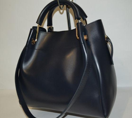 cd7232e559ef Сумка женская кожаная темно синяя копия бренда - Интернет-магазин