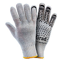 Перчатки трикотажные с точечным ПВХ покрытием Grad (9442715)