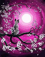 Картина раскраска по номерам на холсте 40*50см Babylon VP658 Мартовская ночь