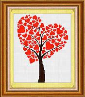 Набор алмазной вышивки LasKo TD004 Дерево любви