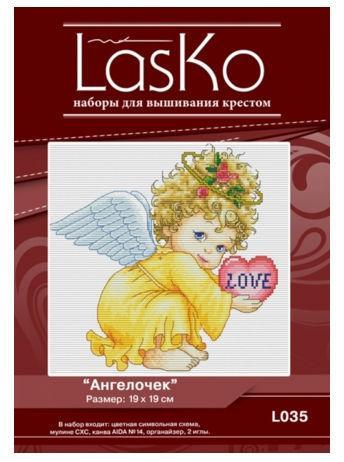 Набор для вышивания LasKo L035-A Ангелок