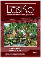 Набор для вышивания LasKo P041 Тихий день