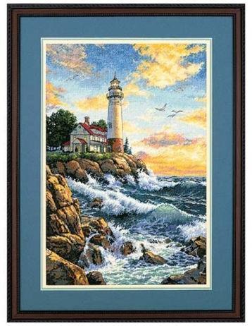 Набор для вышивания Dimensions 03895 Скалистый берег