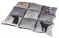 37074 Trixie Gray Patchwork Cat Підстилка, 55х45 см