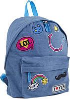 Рюкзак (ранец) школьный 1 Вересня Yes 553921 Jeans LOL ST-15 30*36*12см