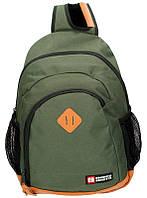 Рюкзак (ранец) школьный Enrico Benetti Eb54450029 Brasilia Olive с отделом для ноутбука 32*45*18см
