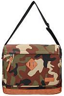 Сумка через плечо Enrico Benetti Eb54421997 Fortaleza Camouflage с отделением для ноутбука 38*31*11см