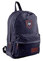 Рюкзак (ранец) школьный 1 Вересня 553472 Steel Blue OX-15 42*29*11см