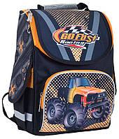 Рюкзак (ранец) школьный каркасный 1 Вересня Smart 553434 Go fast PG-11 34*26*14см