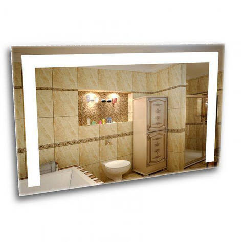 Зеркало с лед подсветкой. Лед зеркало для ванной комнаты, фото 2