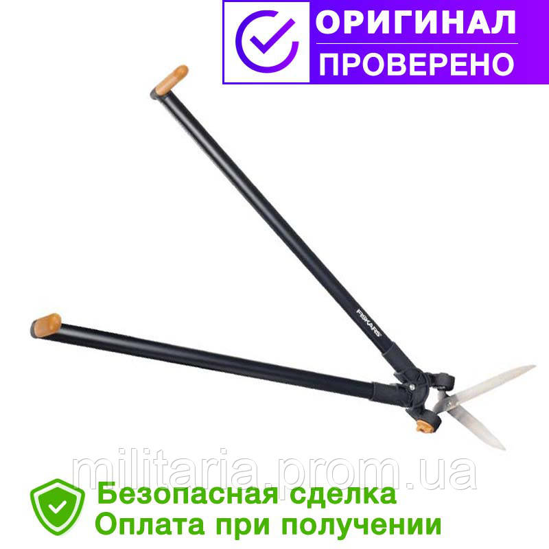Ножницы для травы и живой изгороди с Рычажным приводом Fiskars (1001565/113710)