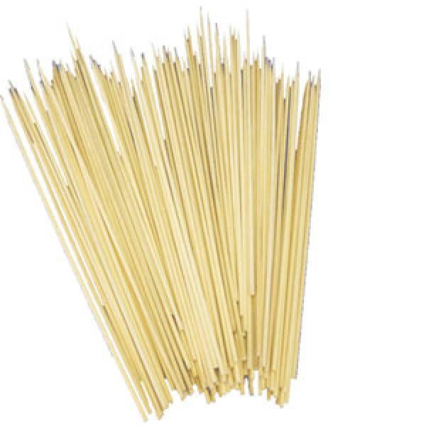 Палочки бамбуковые для шашлика 200х2,5 мм. 100 шт/уп