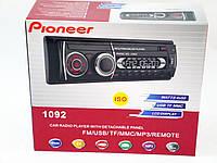 Автомагнитола пионер Pioneer 1092 съемная панель Usb+Sd+Fm+Aux, фото 9
